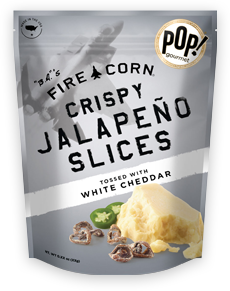 White Cheddar Crispy Jalapeno Slices